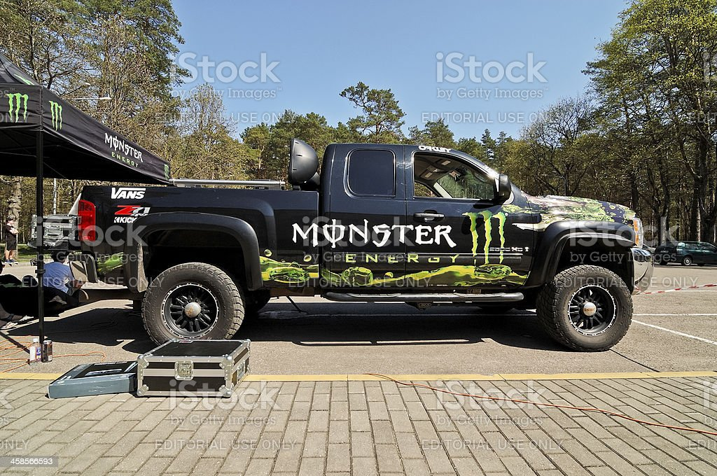 Monster Energy Truck Stock Photo Istock