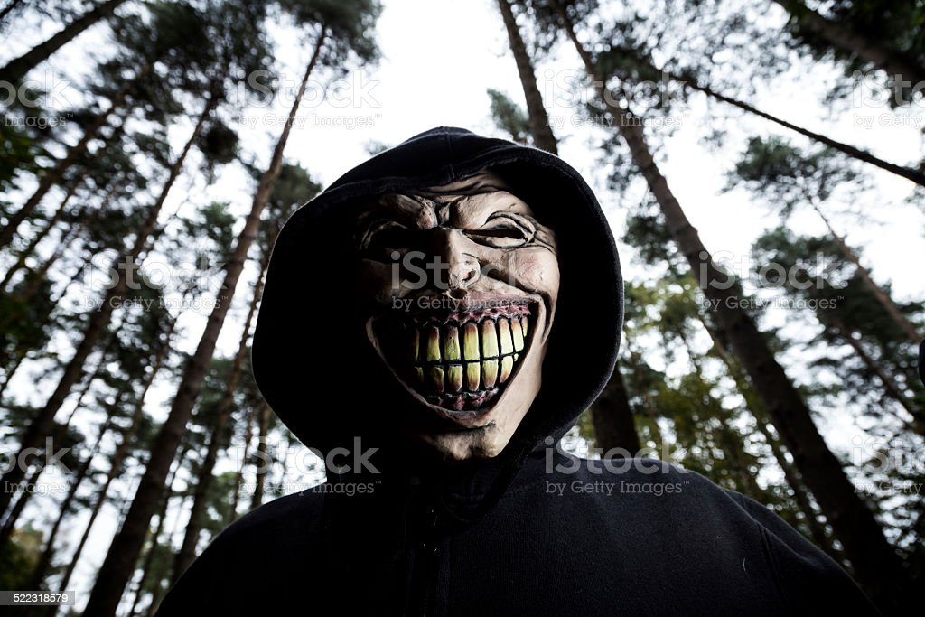 Monster Guy stock photo