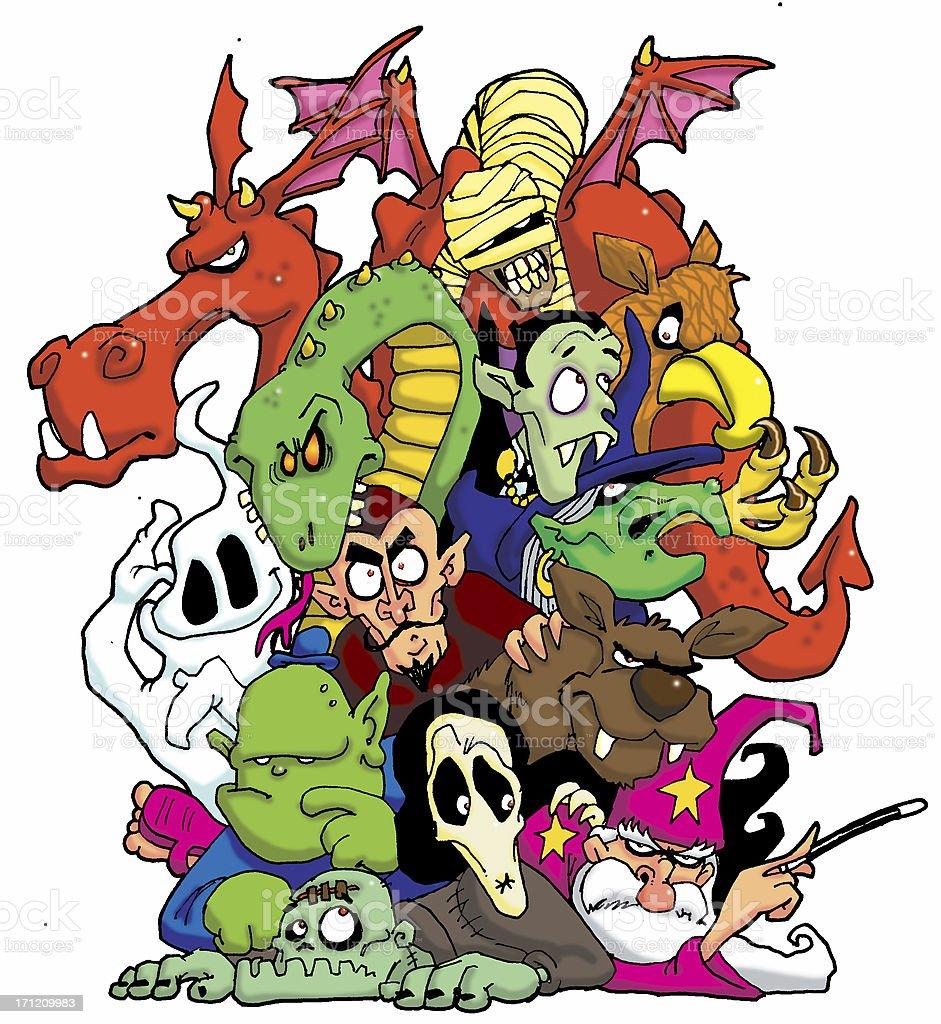 monster mash royalty-free stock photo