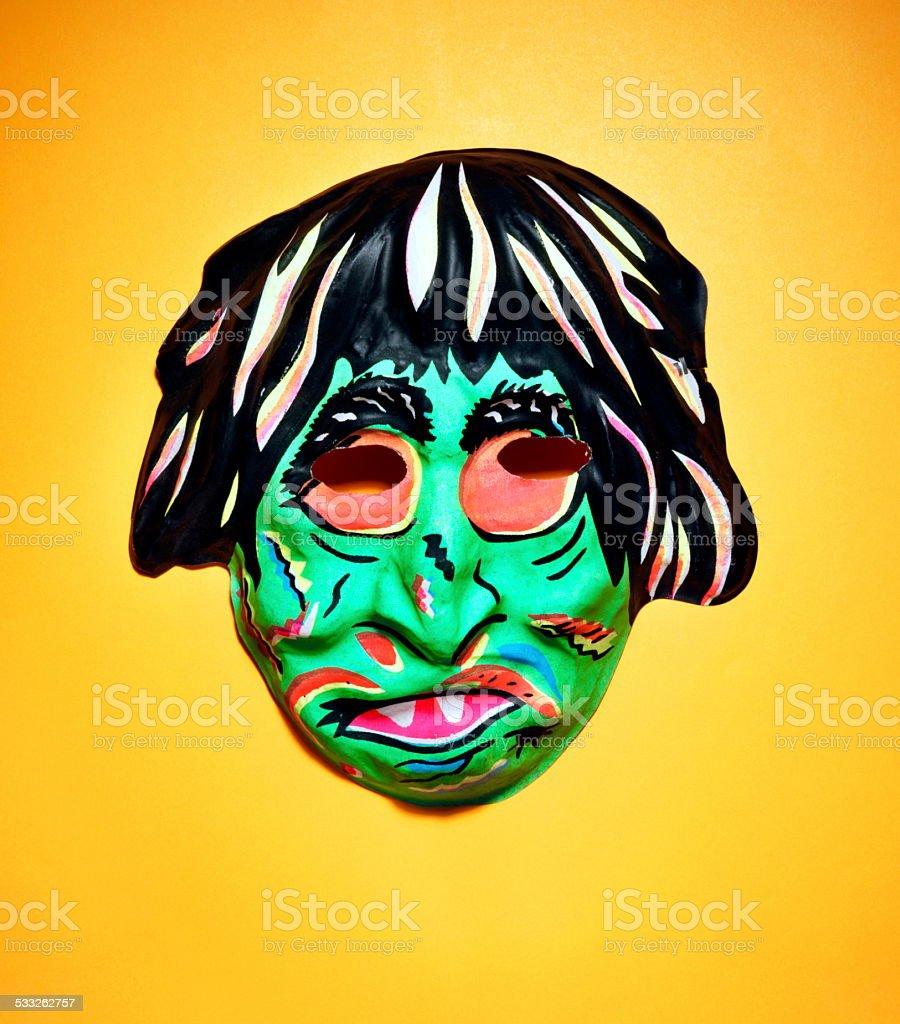 Monster Mask stock photo