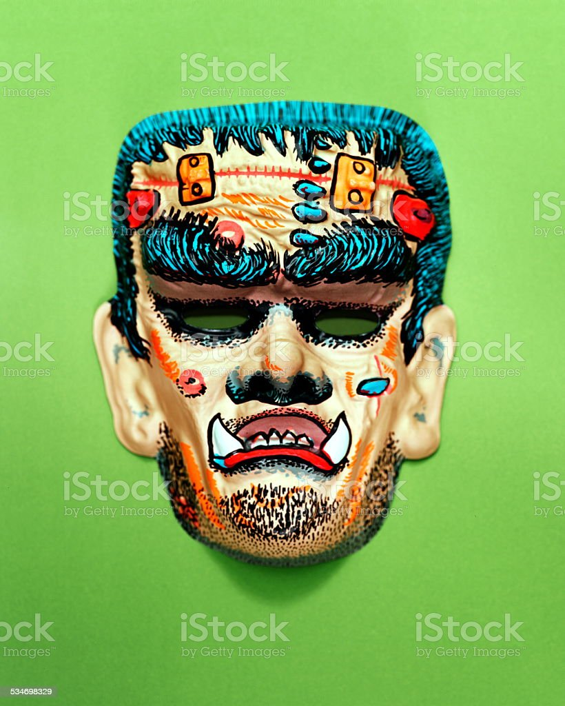 Monster Mask stock photo