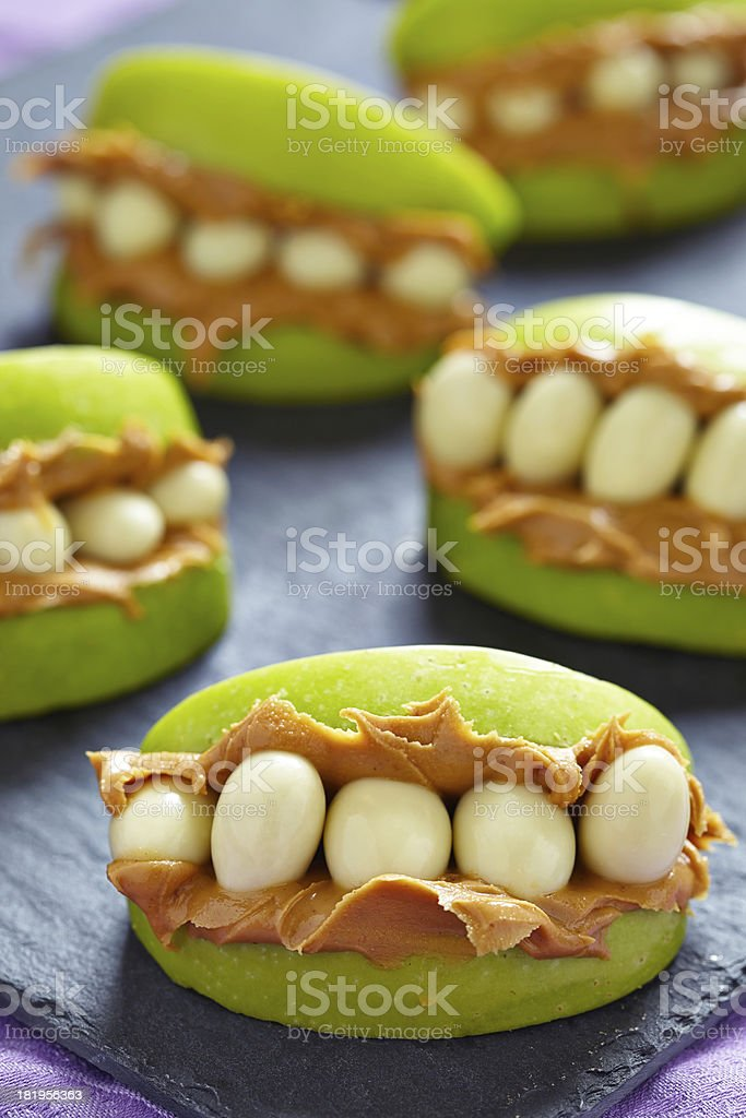 Monster Mouths for Halloween royalty-free stock photo