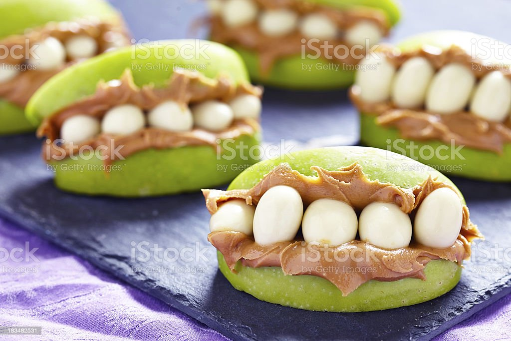 Monster Mouths for Halloween stock photo