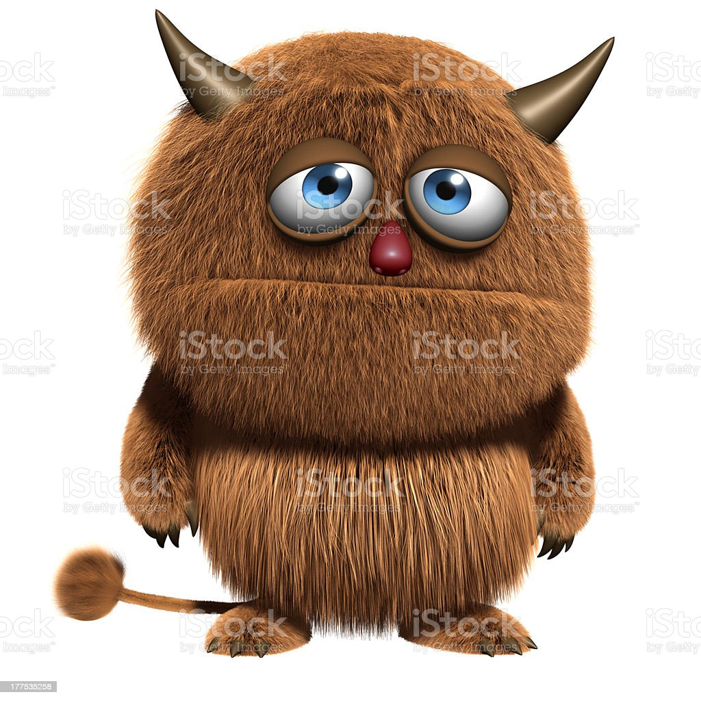 monster royalty-free stock photo