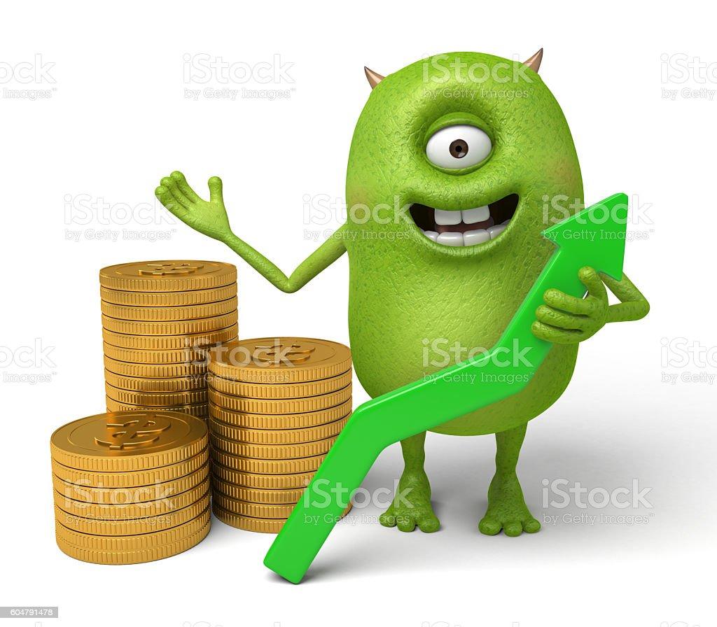 monster stock photo