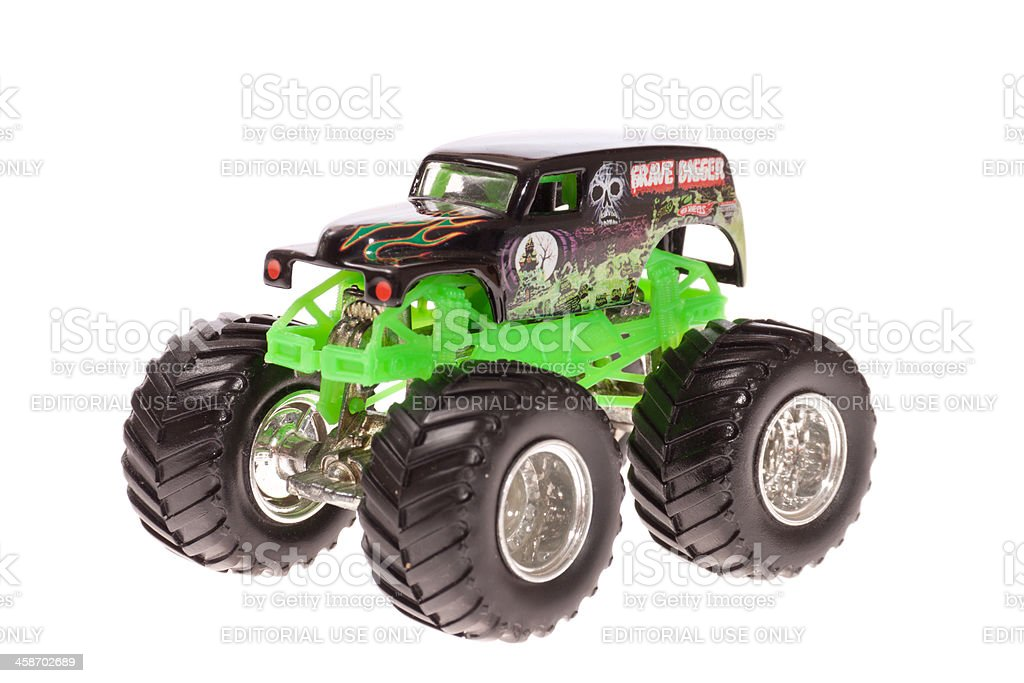 Monster Truck - Grave Digger stock photo