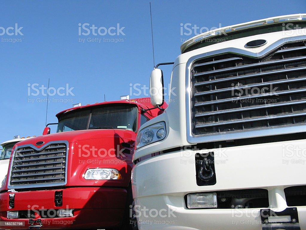 Monster Trucks royalty-free stock photo