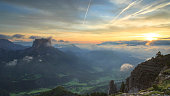 Mont Aiguille sunrise
