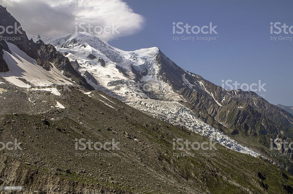 Mont Blanc royalty-free stock photo