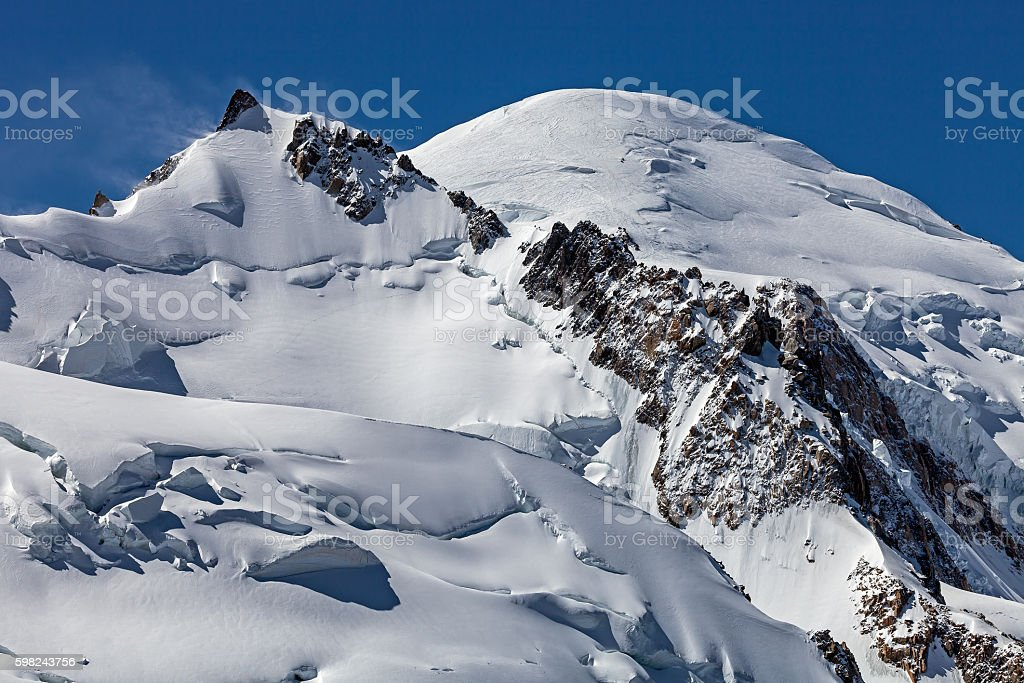 Mont Blanc stock photo