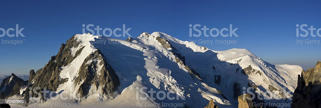 Mont Blanc Range stock photo