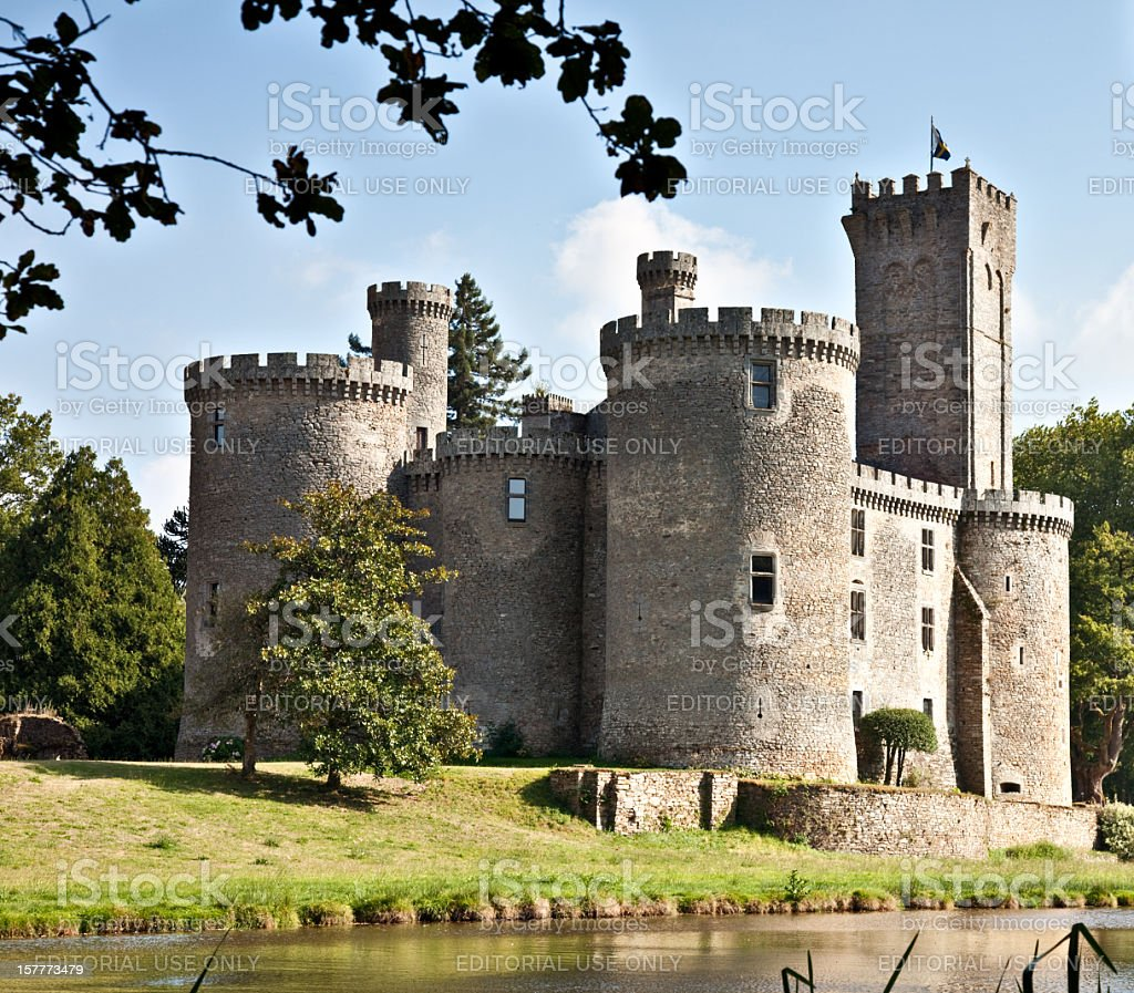 Mont Bron Castle, France royalty-free stock photo
