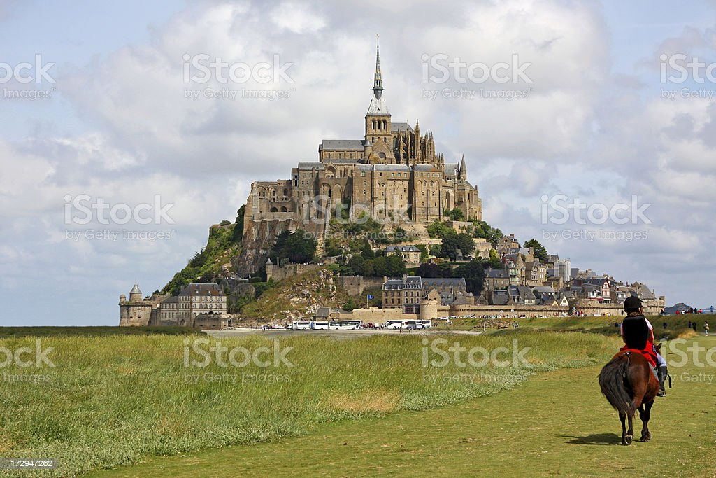 Mont Saint Michel, France # 1 XL royalty-free stock photo