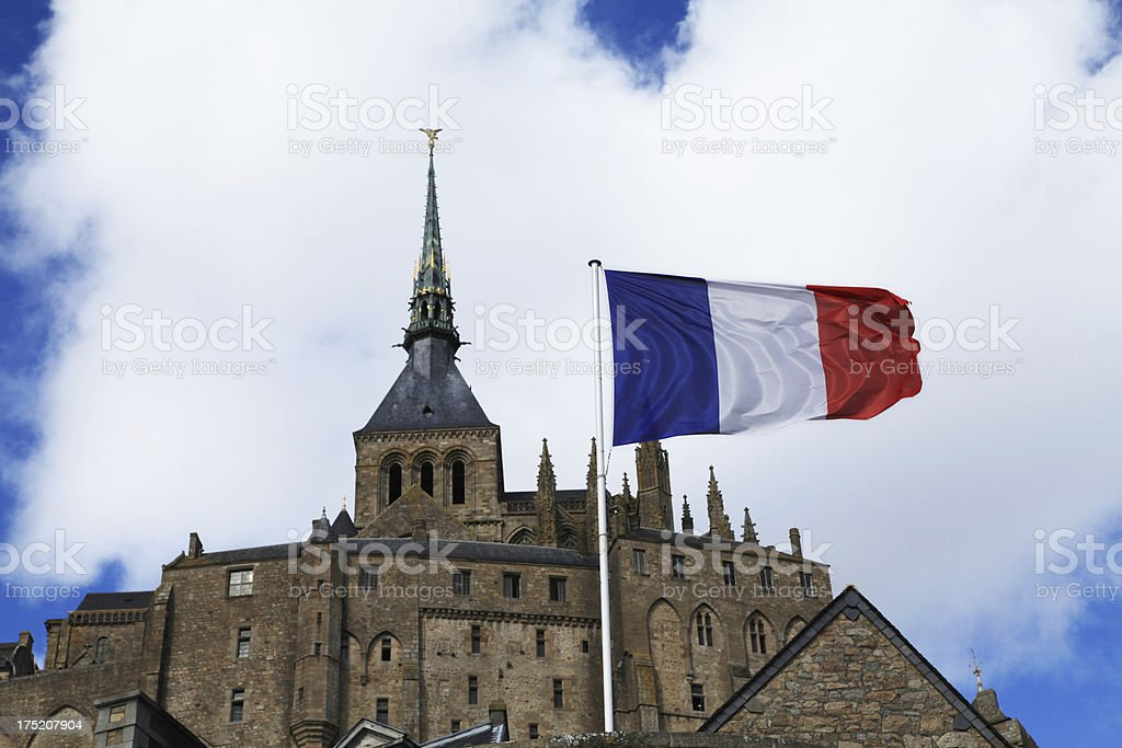 Mont Saint Michel royalty-free stock photo