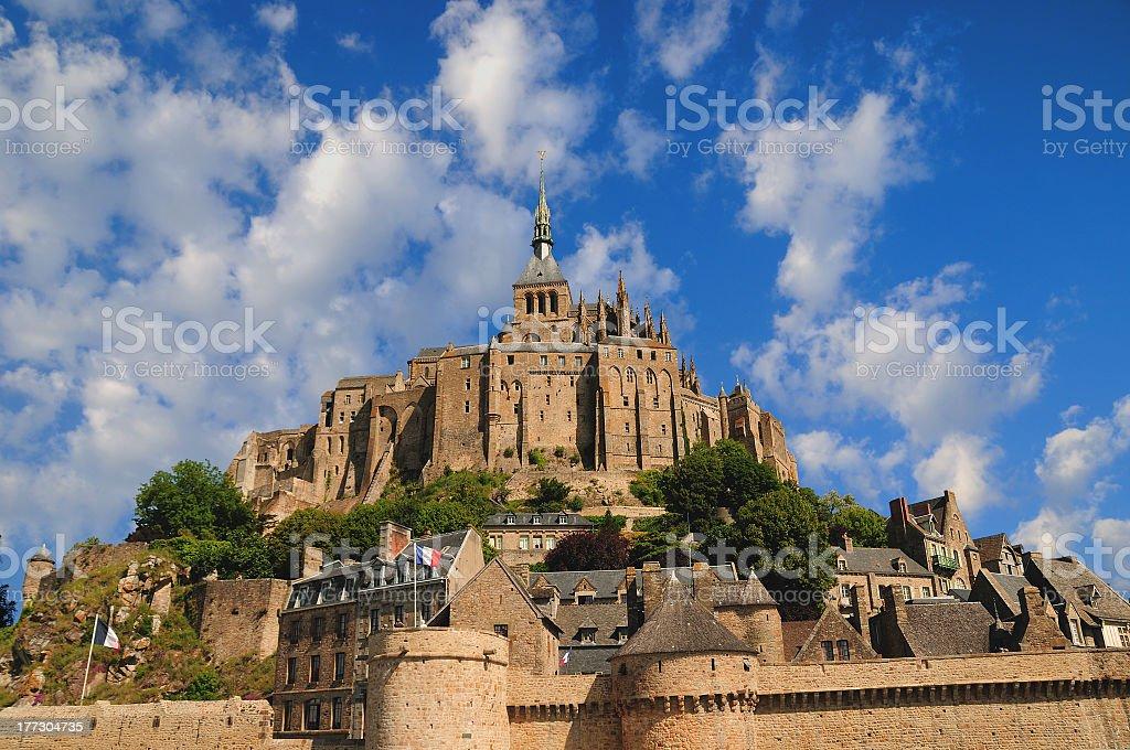 Mont Saint Michel royalty-free stock photo