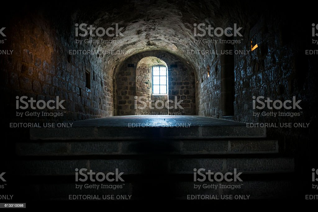Mont Saint-Michel in Normandy, France stock photo