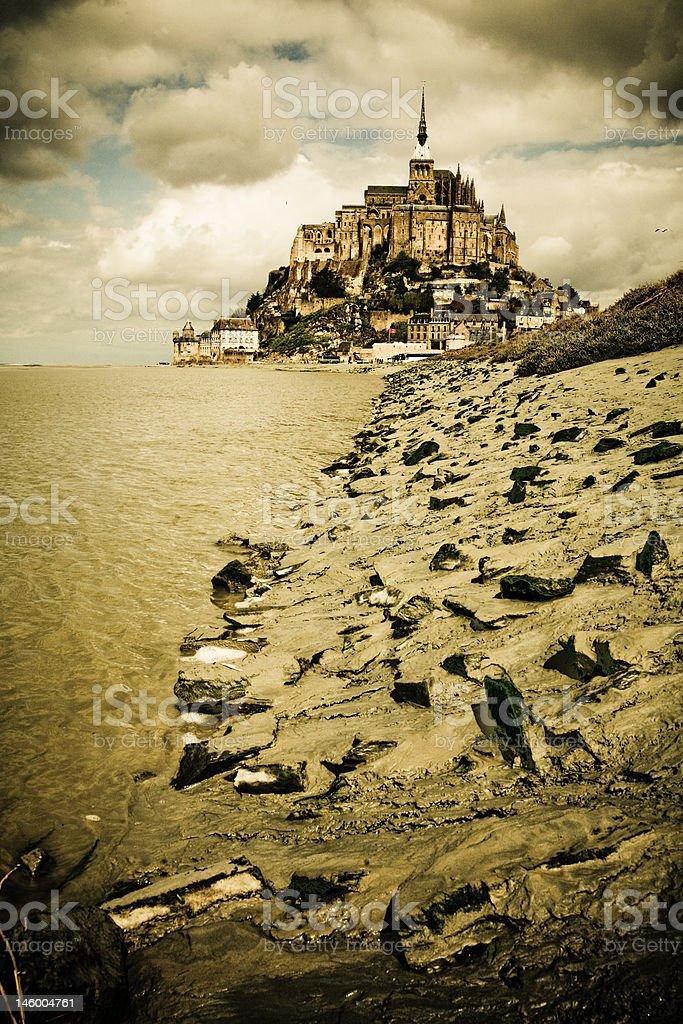 Mont Saint-Michel royalty-free stock photo