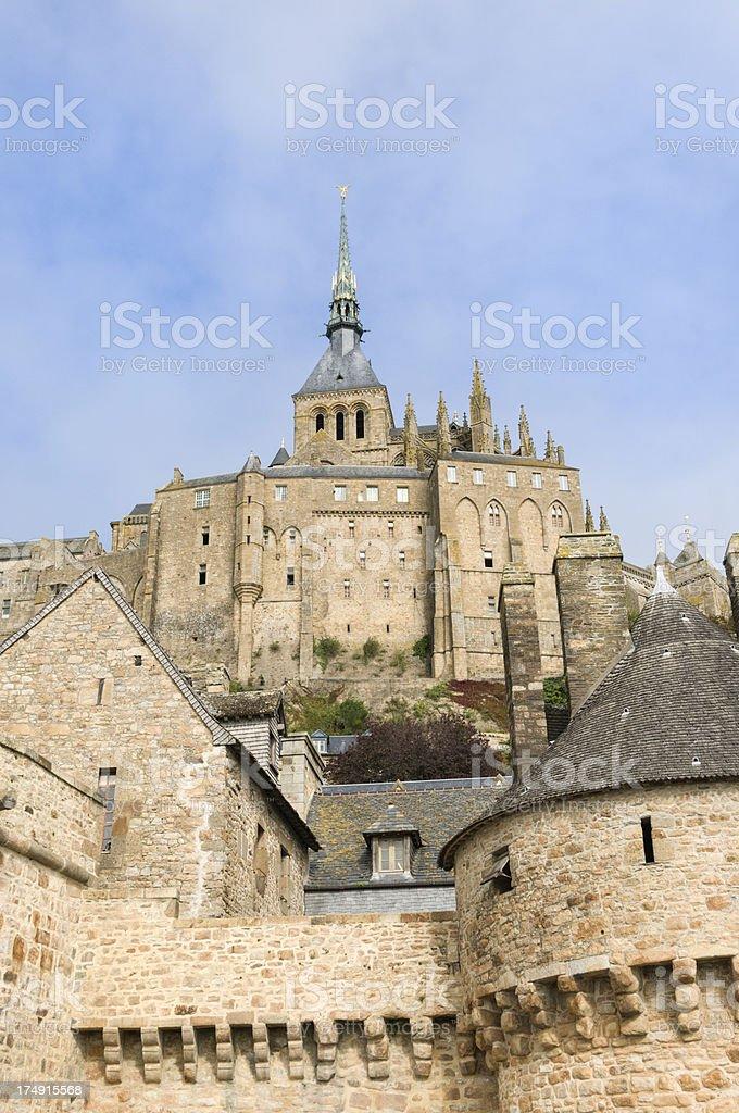 Mont Saint-Michel stock photo