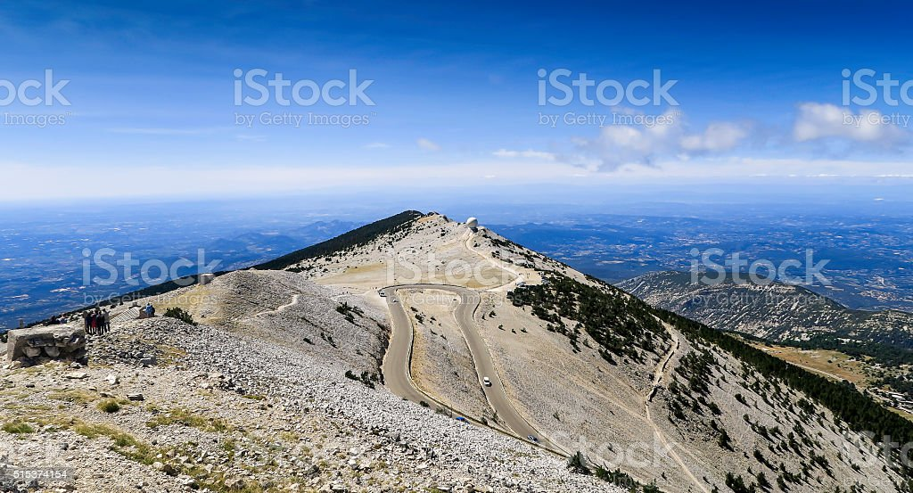 Mont Ventoux, France stock photo