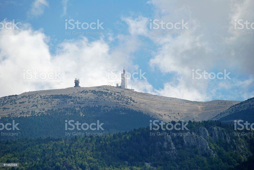 Mont Ventoux stock photo
