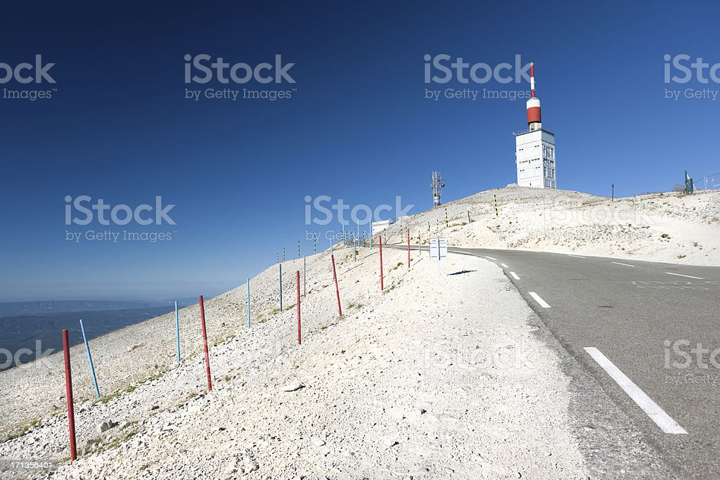 Mont Ventoux, Provence, France stock photo