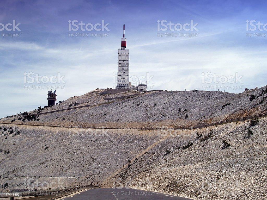 Mont Ventoux, Provence, France stock photo
