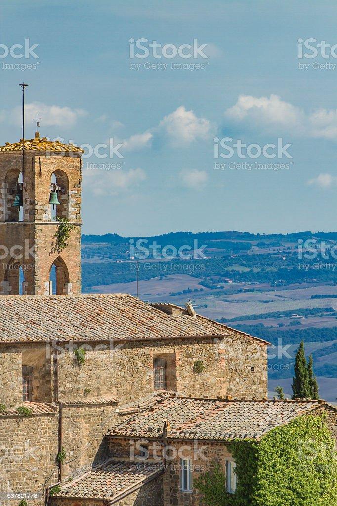 Montalcino, Italy stock photo
