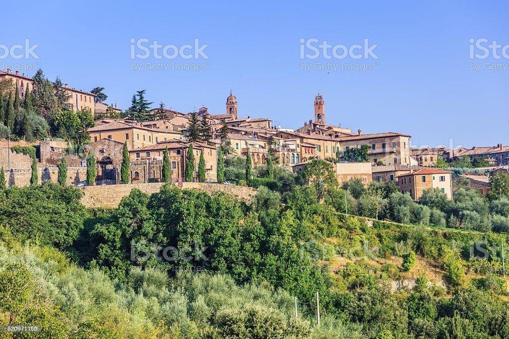 Montalcino stock photo