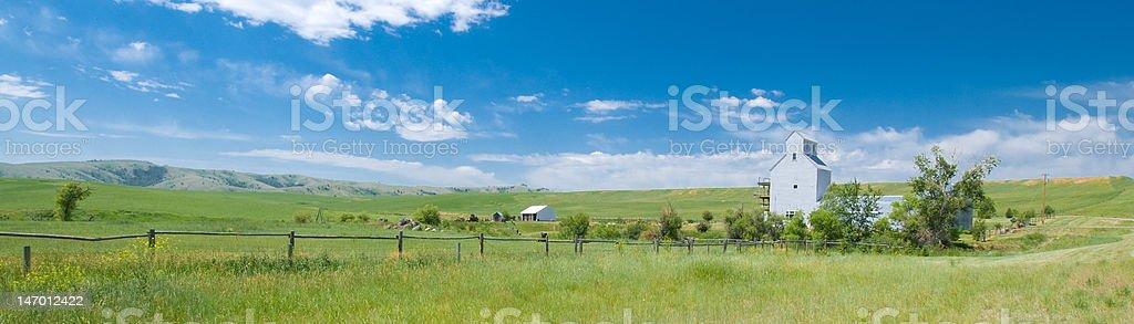 Montana Barn photo libre de droits