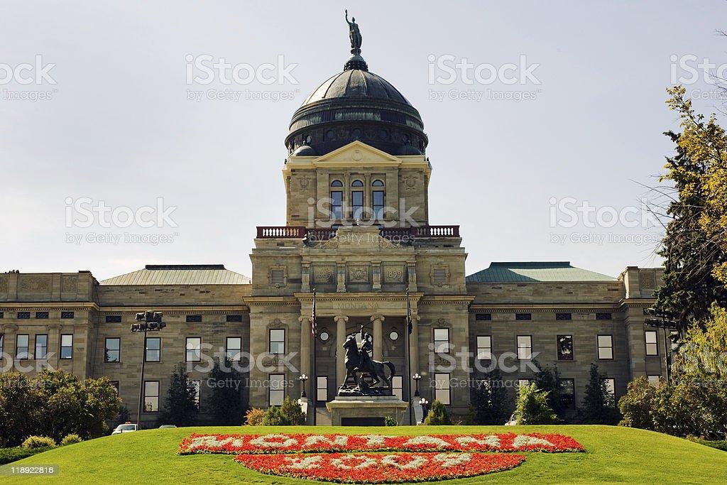 Montana Capitol royalty-free stock photo