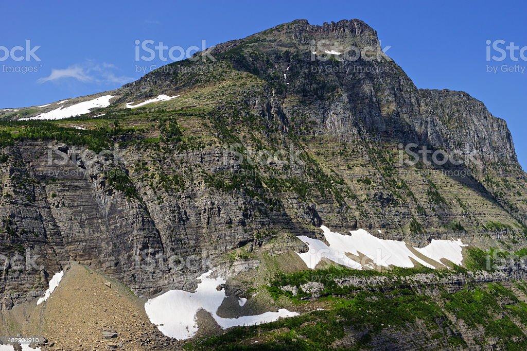 Montana Mighty Cliff stock photo