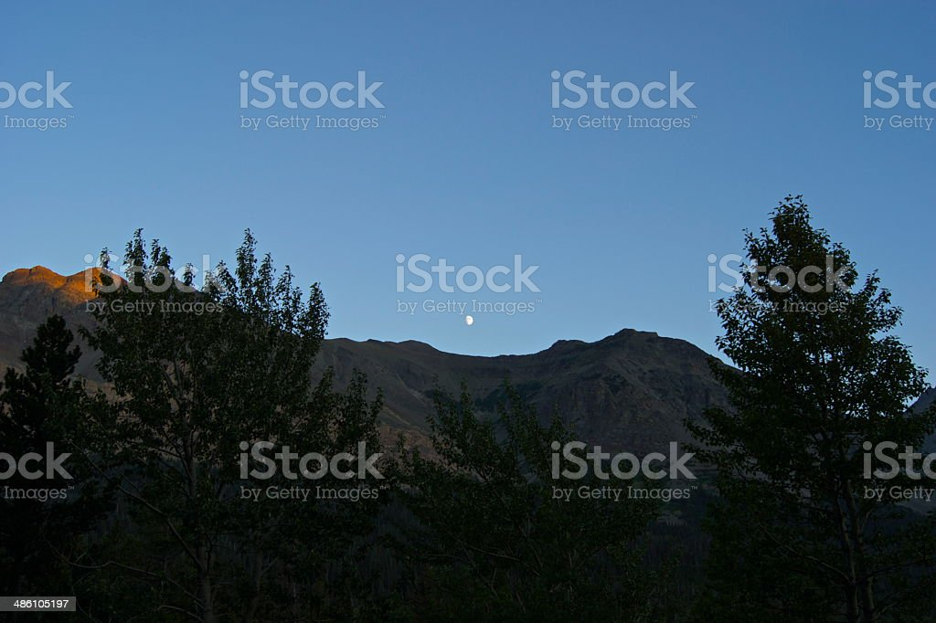Montana Moon Shine stock photo