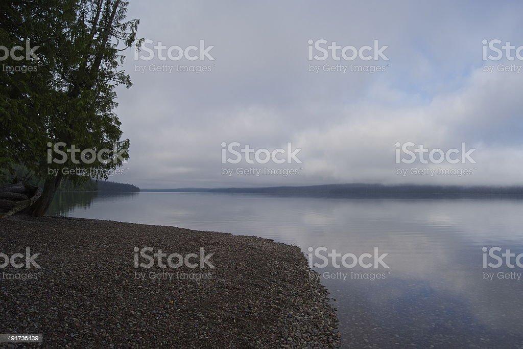 Montana Wild Beach stock photo