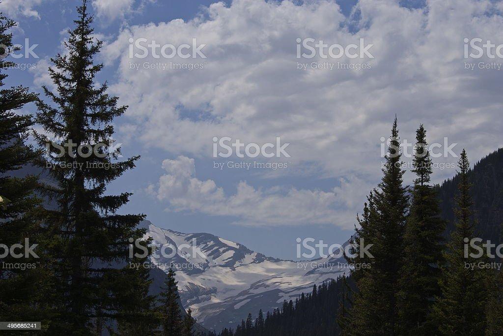 Montana's Jackson Glacier stock photo