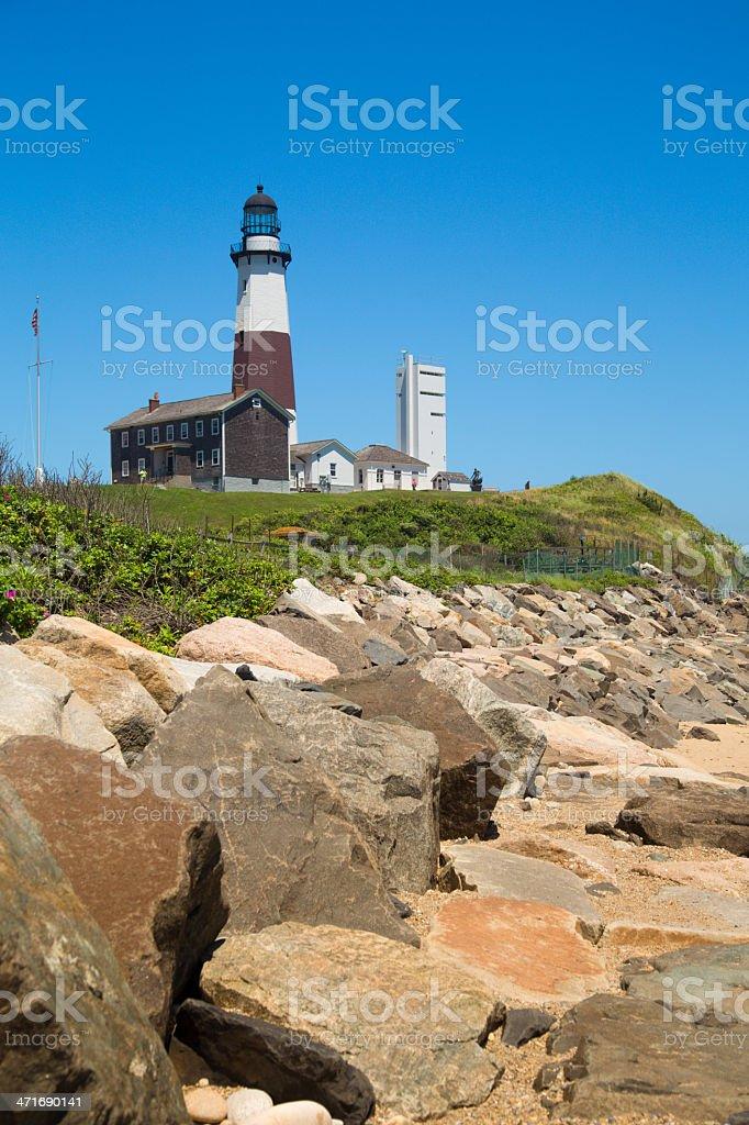 Montauk Lighthouse royalty-free stock photo