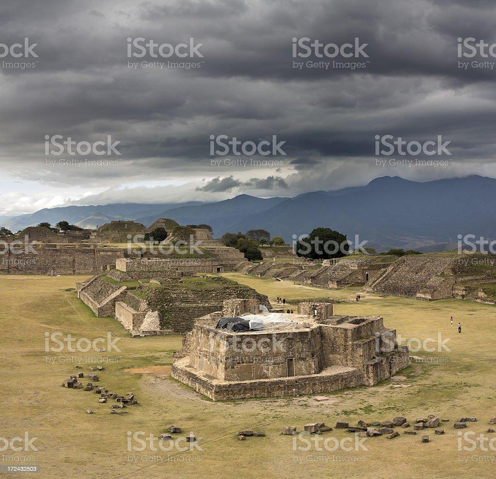Monte Alban royalty-free stock photo
