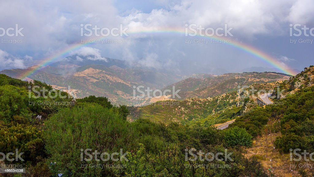 Monte Albo stock photo