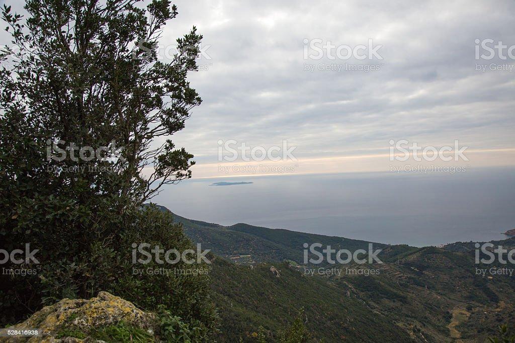 Monte Argentario stock photo