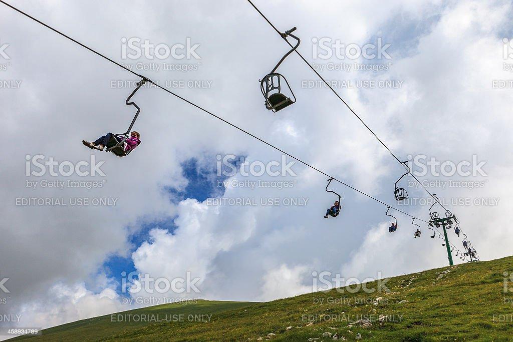 Monte Baldo, Italy royalty-free stock photo