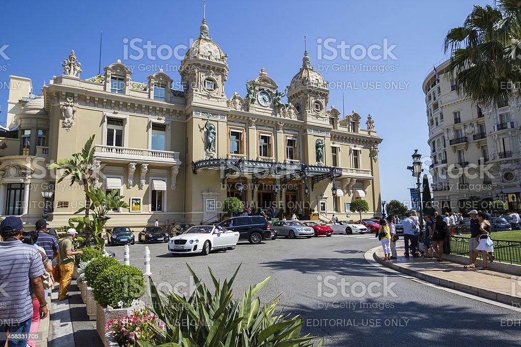 Monte Carlo Casino stock photo