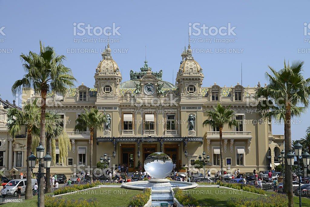 Monte Carlo casino. stock photo