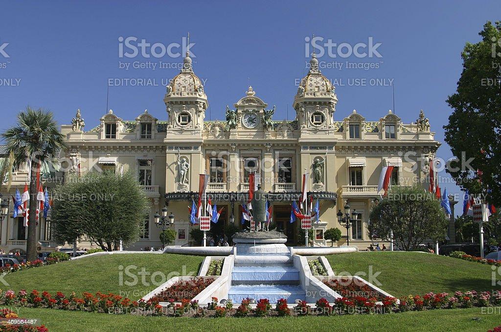 Monte Carlo Grand Casino. stock photo