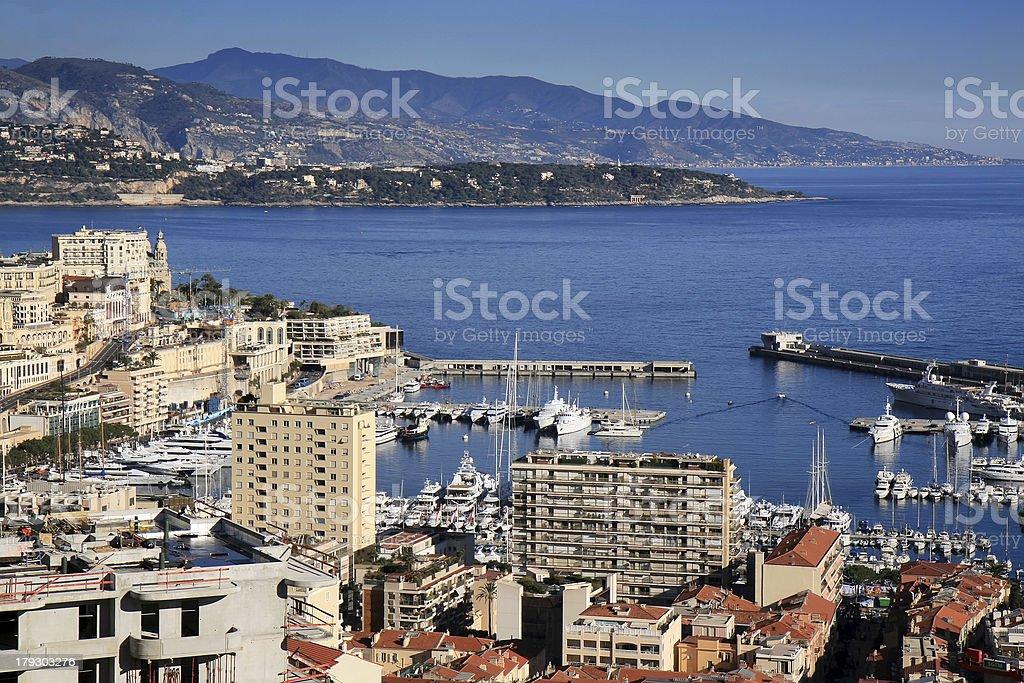 Monte Carlo in Monaco royalty-free stock photo