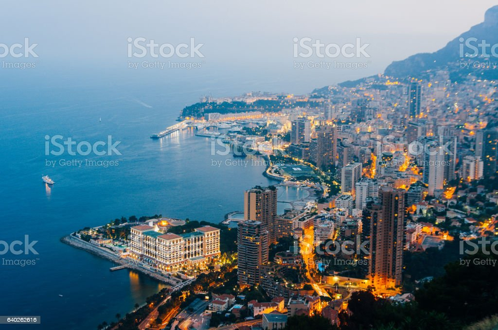 Monte Carlo, Monaco, French Riviera stock photo