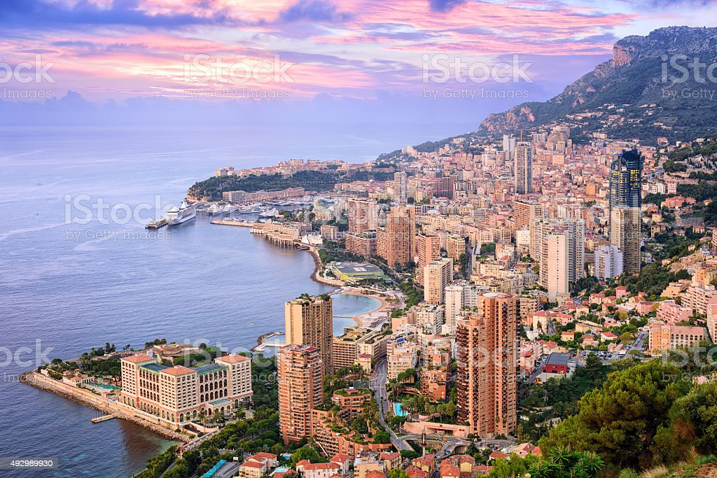 Monte Carlo, Monaco stock photo