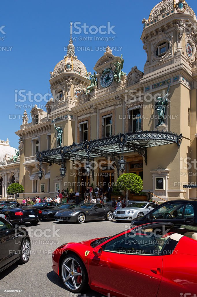 Monte Carlo - Monaco stock photo