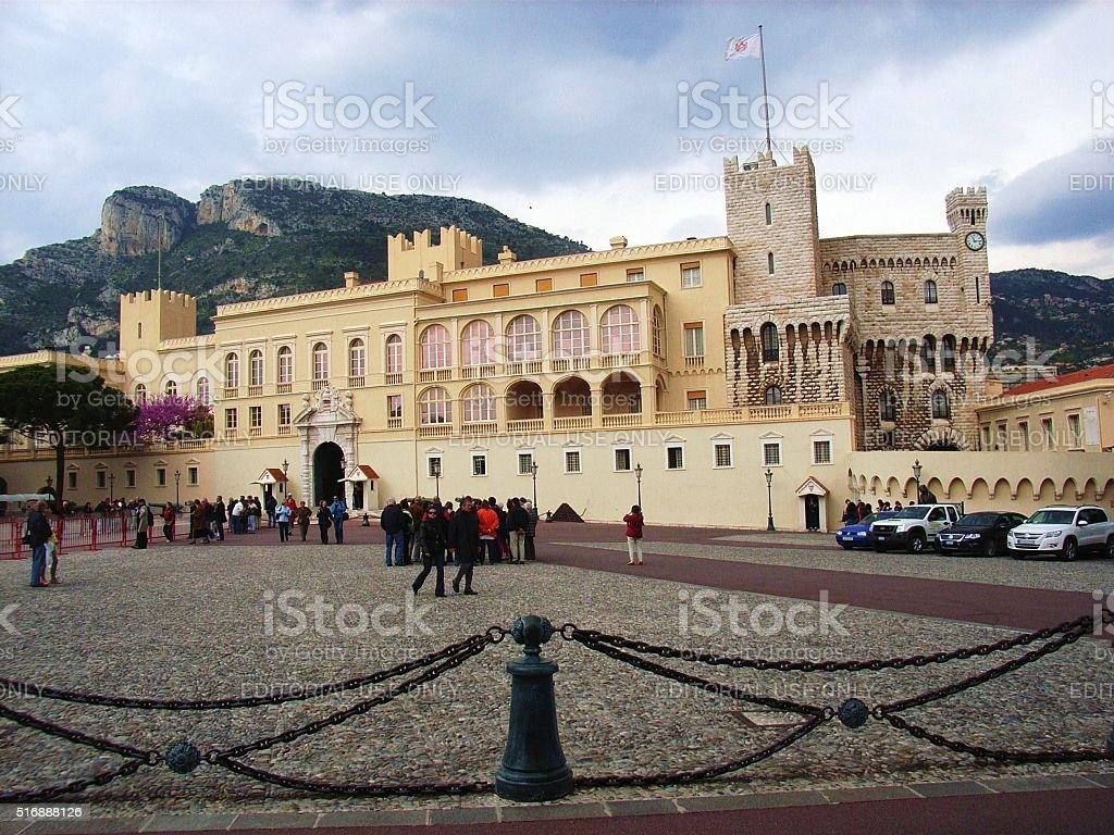 Montecarlo - Palazzo dei Principi di Monaco stock photo