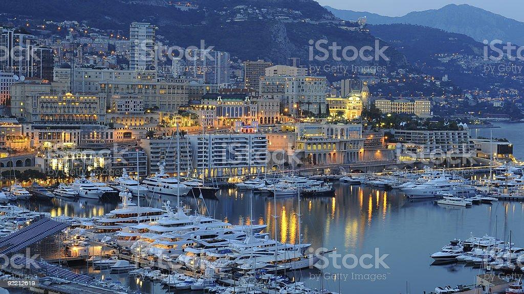 Monte Carlo royalty-free stock photo