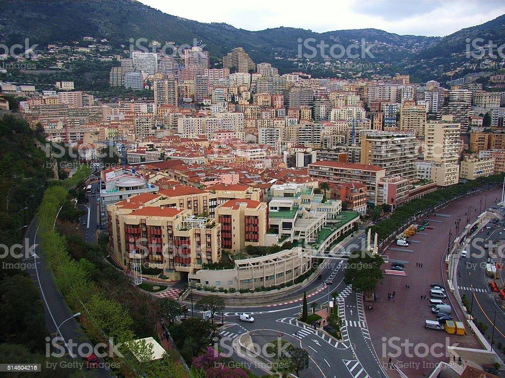 Montecarlo - Quartiere del porto stock photo