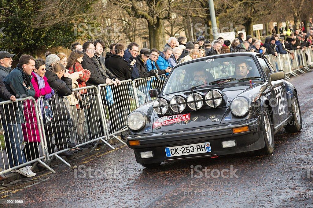 Monte Carlo Rally 2013 royalty-free stock photo